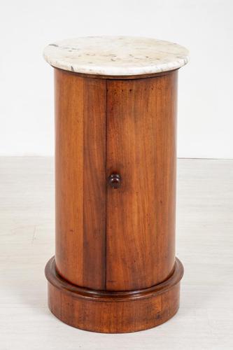 Victorian Cylinder Mahogany Pot Cupboard (1 of 4)