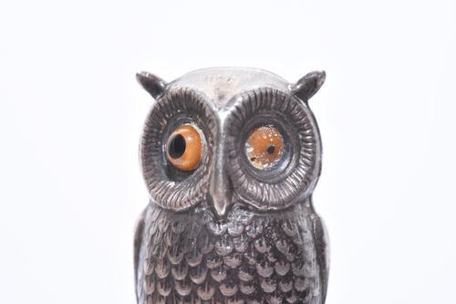 Victorian Sampson Mordan Silver Sheath Pencil & Seal (1 of 7)