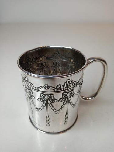 Silver Christening Mug, Chester 1907 (1 of 7)