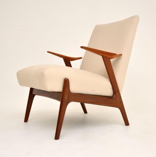 1960's Dutch Vintage Armchair in Teak & Afromosia (1 of 10)