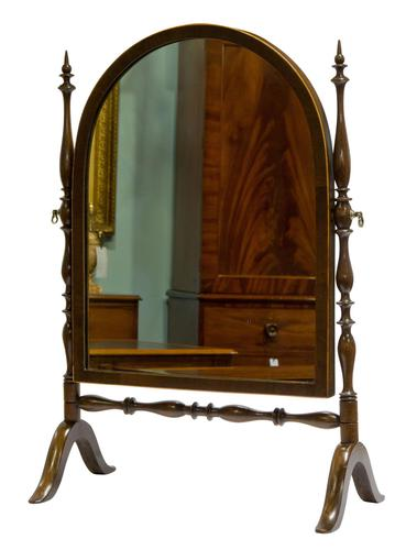 Edwardian Arch Top Dressing Table Mirror (1 of 5)