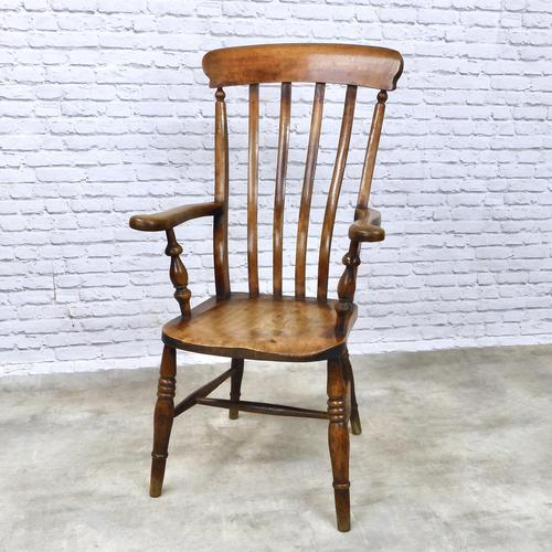 Windsor Lathback Armchair, c.1890 (1 of 6)