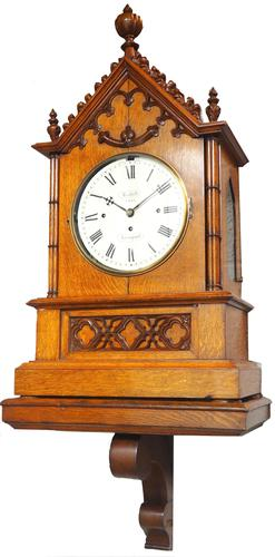 Antique Musical Westminster Chime Bracket Clock 8 Bell Triple Fusee Roskell Liverpool (1 of 14)