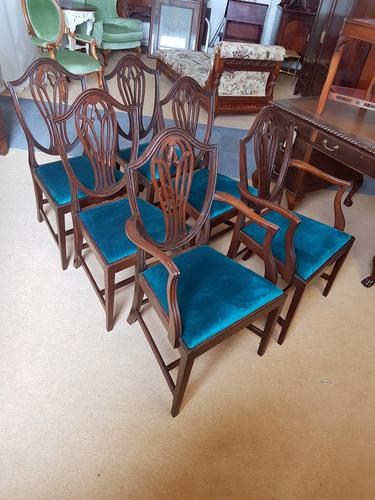 Edwardian Set of 6 Dining Chairs (1 of 4)