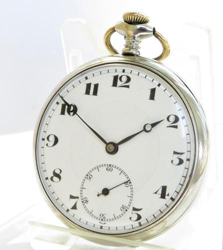1920s Lanco Pocket Watch by Langendorf (1 of 4)