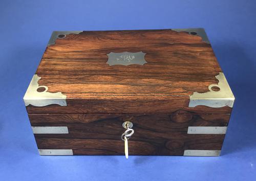 Georgian Brassbound Rosewood Medicine Box (1 of 25)
