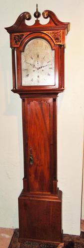 Scottish Georgian Mahogany Longcase Clock (1 of 10)