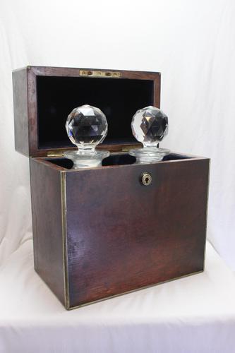 Oak Campaign Decanter Box (1 of 3)