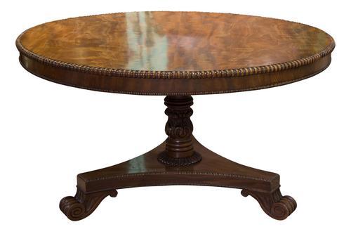 William IV Circular Breakfast Table c.1830 (1 of 7)