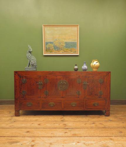 Antique Style Chinese Sideboard, Oriental Sideboard TV Stand (1 of 23)