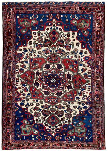 Antique Bakhtiar Rug (1 of 10)