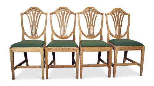 Four Oak Chairs (1 of 5)