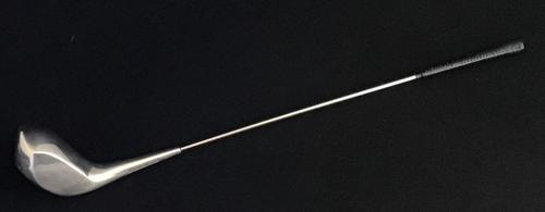 Silver Plated Golf Club Swizzle Stick (1 of 3)