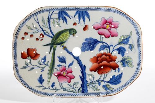 Late 19th Century Stone China Turkey Drainer (1 of 4)