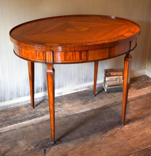 Dutch Neoclassical Satinwood Centre Table (1 of 13)