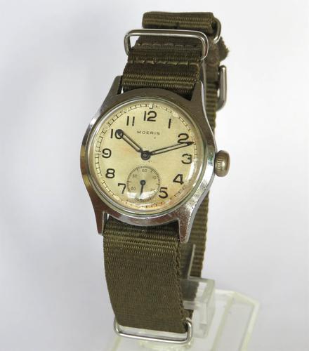 Gents WW2 Moeris Army / Military Wrist Watch (1 of 5)