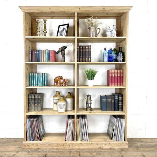 Large Vintage Pine Display Shelves (1 of 11)