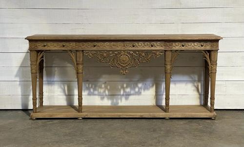 Wonderful French Walnut Console Table (1 of 36)