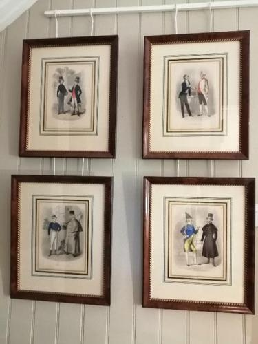 Set of Four Fine Prints by Joseph Couts - The Tailors Cutting Room (1 of 15)