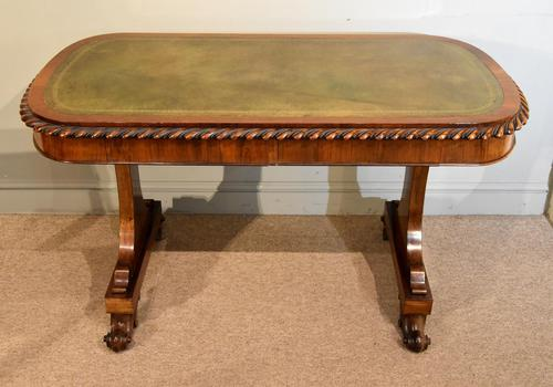 William IV Rosewood Writing Table (1 of 7)