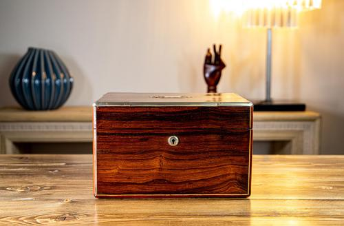 William IV Rosewood Vanity Box (1 of 13)
