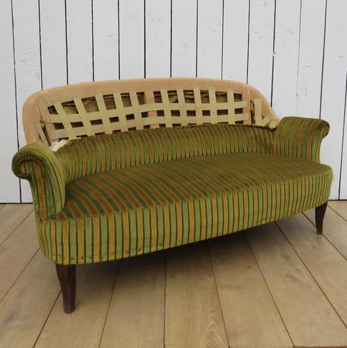 Vintage French Sofa for Re-upholstery (1 of 7)