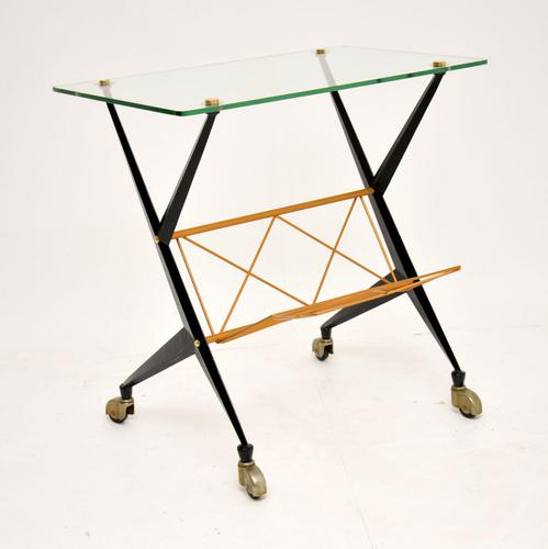 1960's Vintage Italian Side Table by Angelo Ostuni (1 of 13)
