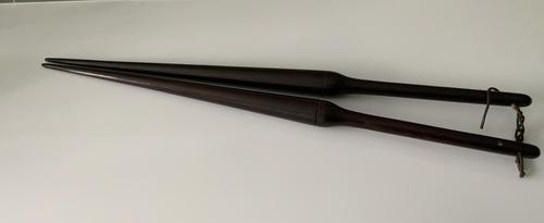 Early 19th Century Treen Glove Stretchers (1 of 4)