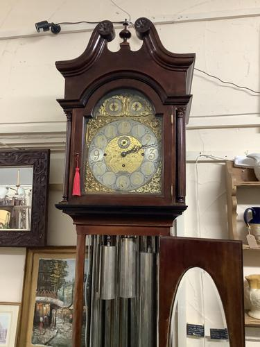 Edwardian Longcase Clock (1 of 4)