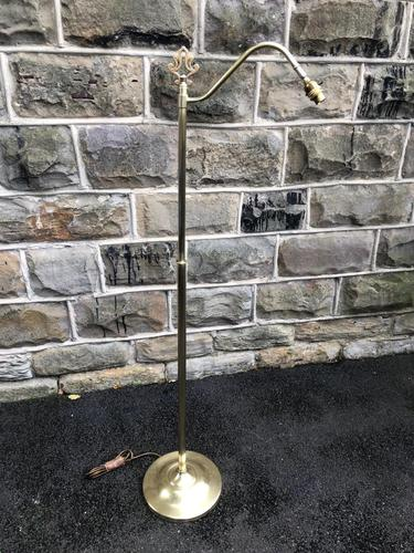 Antique Brass Reading Lamp (1 of 8)