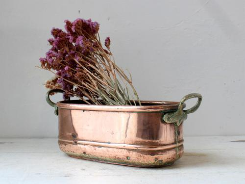 Late 19th Century French Copper Pot (1 of 5)