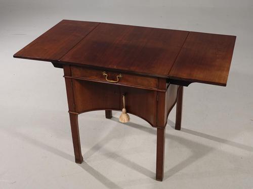 Rare Late 18th Century Mahogany Pembroke Supper Table (1 of 8)