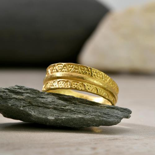 The Viking Age Iron Heart Gold Ring (1 of 6)