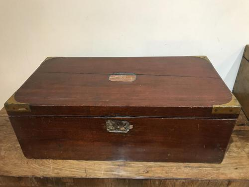 Victorian Officers  Campaign Writing Box with Secrets (1 of 7)