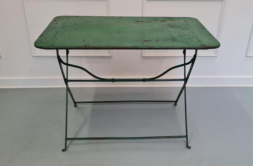 Antique Folding Garden Table (1 of 4)