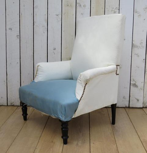 Antique Napoleon III Chair for Re-upholstery (1 of 8)
