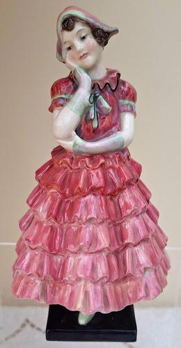 "Vintage Royal Doulton English Porcelain Figurine ~ ""Maisie"" ~ HN 1619 (1 of 5)"