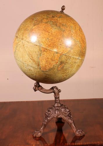 Globe Terrestre J.lebègue & Cie c.1890 (1 of 13)