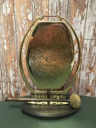 Arts & Crafts Lozenge Shaped Gong (1 of 5)