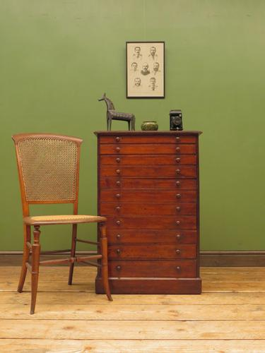 Antique Victorian Collectors Specimen Chest of Drawers (1 of 18)