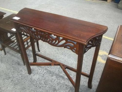 Mahogany Hall Table (1 of 2)