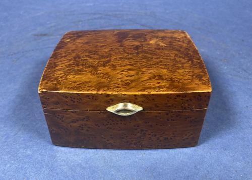 1920s Burr Cedar Box (1 of 11)