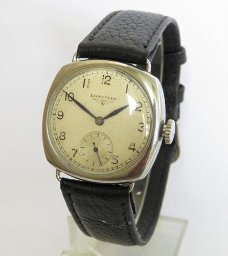 Gents Longines Wrist Watch, 1937 (1 of 5)