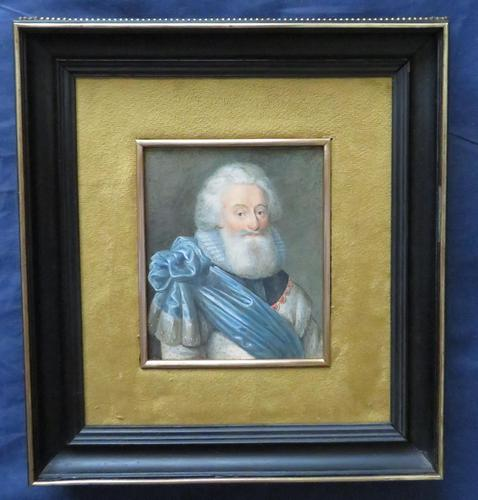 Miniature Portrait 2nd Lord Fairfax English Civil War (1 of 6)