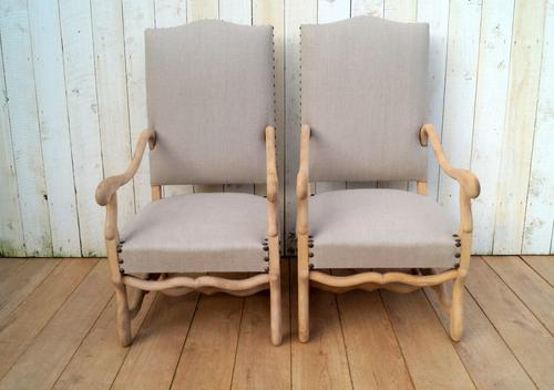 Re-Upholstered Carver Chairs (1 of 8)