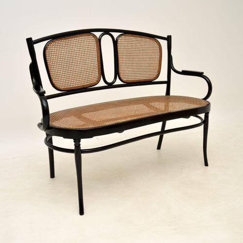 Antique Bentwood Thonet Style Settee (1 of 12)