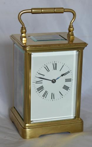 French Striking Carriage Clock c.1895 (1 of 6)