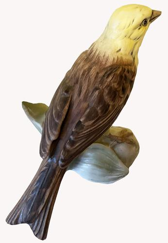 A Porcelain figure of a Yellowhammer by Goebel of Germany (1 of 5)
