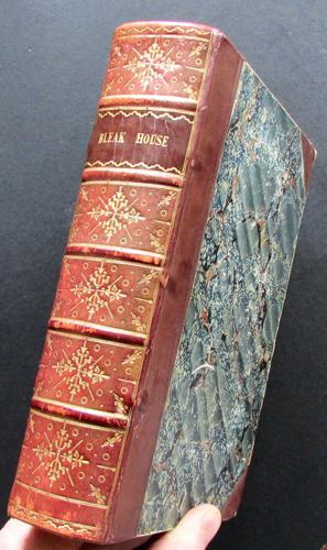 1853 1st Edition, 1st Issue Bleak House by Charles Dickens (1 of 5)