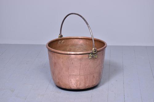 Large Handmade Victorian Copper Log Bin (1 of 5)